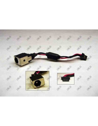 DC Jack 1.65mm con cable  para Acer