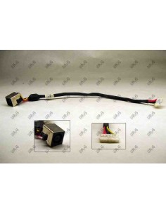 DC Jack 7.4mm x 5.0mm con cable  para Dell