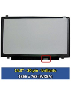 "Pantalla LG Philips LP140WHU TPBH, (14.0"", Brillante) [14015B]"