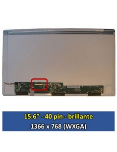 "Pantalla samsung LTN156AT24 C02, (15.6"", Brillante) [15603B]"