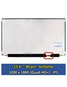 "Pantalla Sharp LQ156Z1JW03B A02, (15.6"", Brillante) [15650B]"