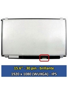 "Pantalla LG Philips LP156WF6 (SP)(M2), (15.6"", Brillante) [15634B]"
